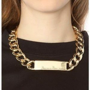 """Melody Ehsani """"Love me or leave me alone"""" Necklace"""
